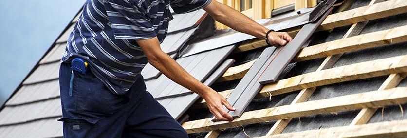 dakbedekking voor hellend dak